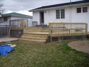 Home Renovations: After photo of Deck Renovations